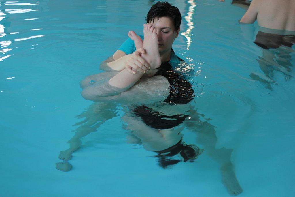 Ostéopathie Aquatique - Technique sous l'eau
