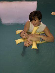 Osteopathie aquatique Bébé