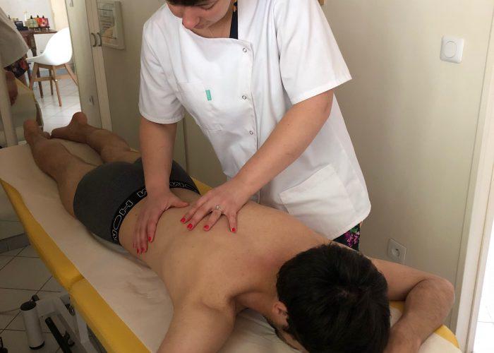 Ostéopathe Sportif - Travail de la zone dorsale