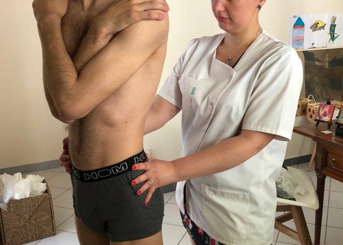 Ostéopathe Sportif - Tests du rachis