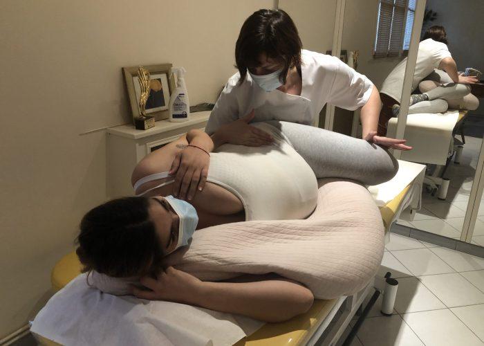 Ostéopathe femme enceinte bassin