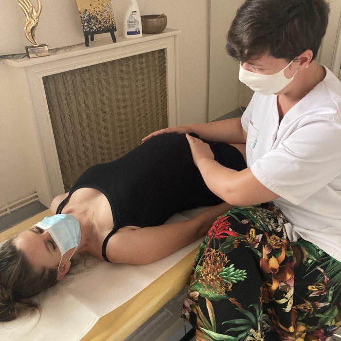Osteo femme enceinte - Technique Petit Bassin