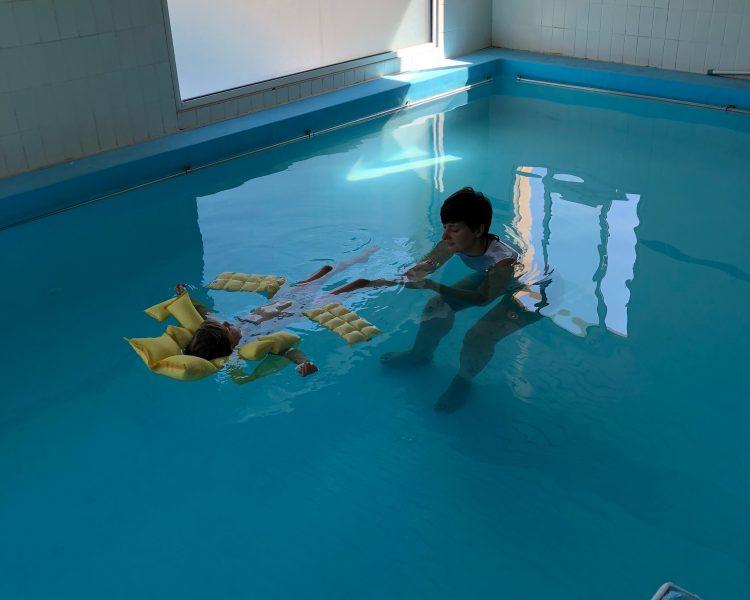 Ostéopathie Aquatique enfant - Tests